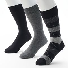 Men's Marc Anthony 3-pk. Wide-Striped Dress Socks