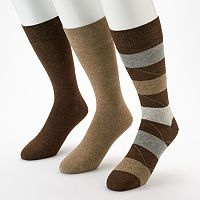 Men's Marc Anthony 3 pkWide-Striped Dress Socks