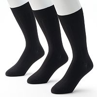Men's Marc Anthony 3 pkRibbed Dress Socks