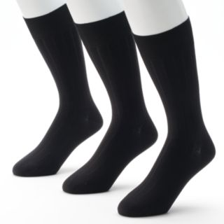 Men's Marc Anthony 3-pk. Ribbed Dress Socks