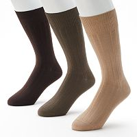 Men's Marc Anthony 3-pk. Ribbed Dress Socks