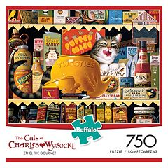 Charles Wysocki Cats: Ethel the Gourmet 750 pc Puzzle