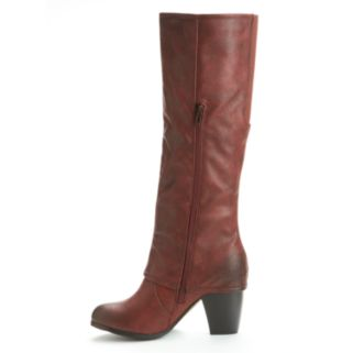 Kisses by 2 Lips Too Too Lit Women's Knee-High Boots