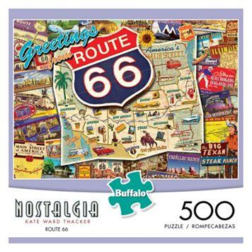 Kate Ward Thacker Nostalgia: Route 66 500-pc. Puzzle