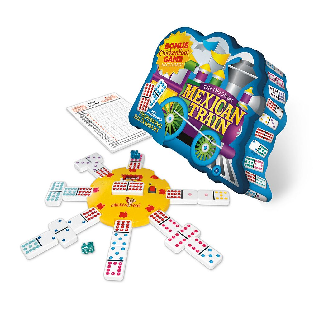 Mexican Train Deluxe Domino Set