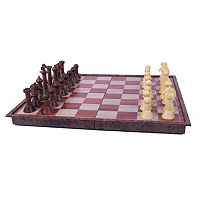 Wood Magnetic Chess Set by John N. Hansen Co.