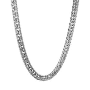 LYNX Stainless Steel Curb Chain Necklace - 22 in. - Men