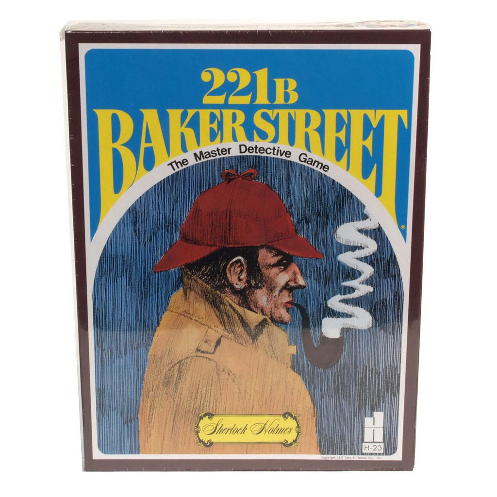 221B Baker Street - The Master Detective Game by University Games