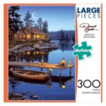 Darrell Bush: Crescent Moon Bay 300-pc. Puzzle