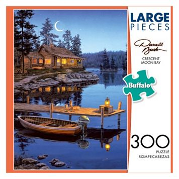 Darrell Bush: Crescent Moon Bay 300-pc. Puzzle