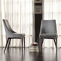 HomeVance 2 pc Allegra Side Chair Set