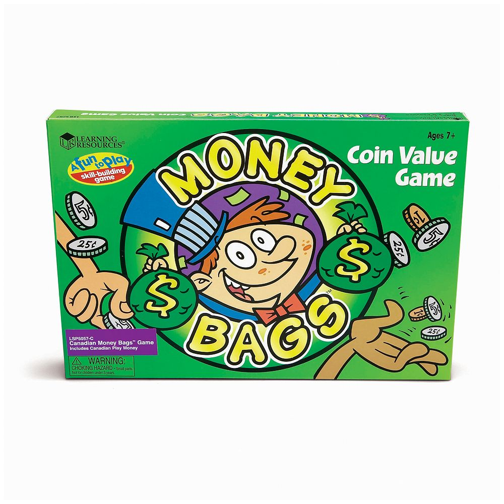Money Bags Coin Value Game by Learning Resources