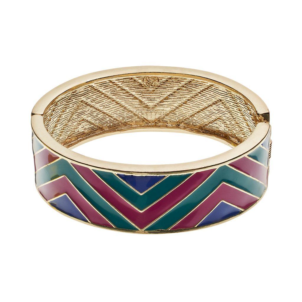 GS by gemma simone Ancient Worlds Collection Dakota Chevron Bangle Bracelet