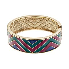 GS by gemma simone Ancient Worlds Collection Dakota Chevron Bangle Bracelet