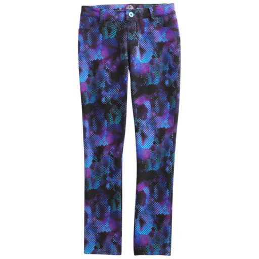 Girls 7-16 & Plus Size SO® Printed Knit Jeggings