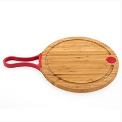 Fiesta Scarlet Bamboo 10-in. Cut & Serve Board