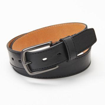 Men's Levi's® Black Leather Belt