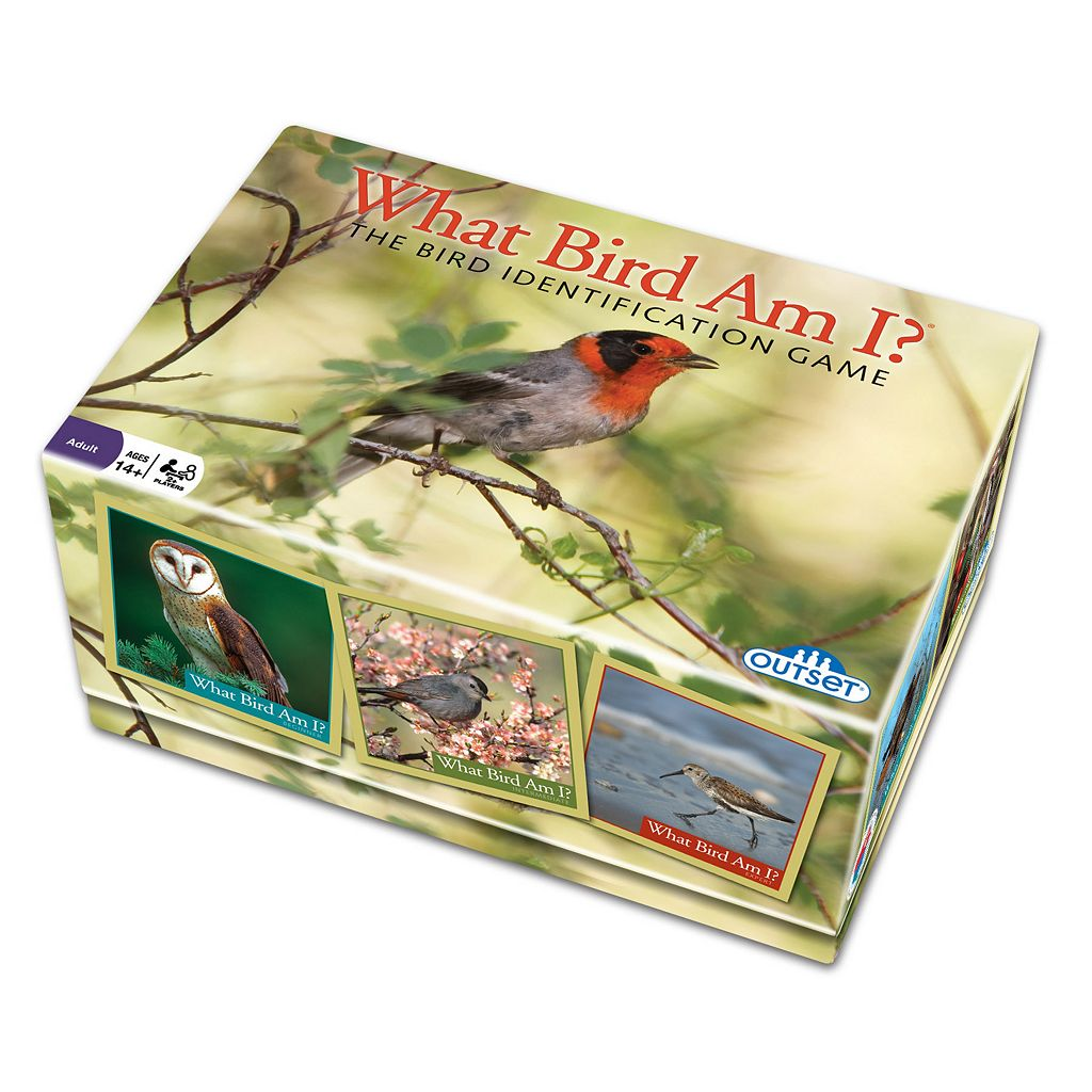 What Bird Am I? The Bird Identification Game by Outset Media