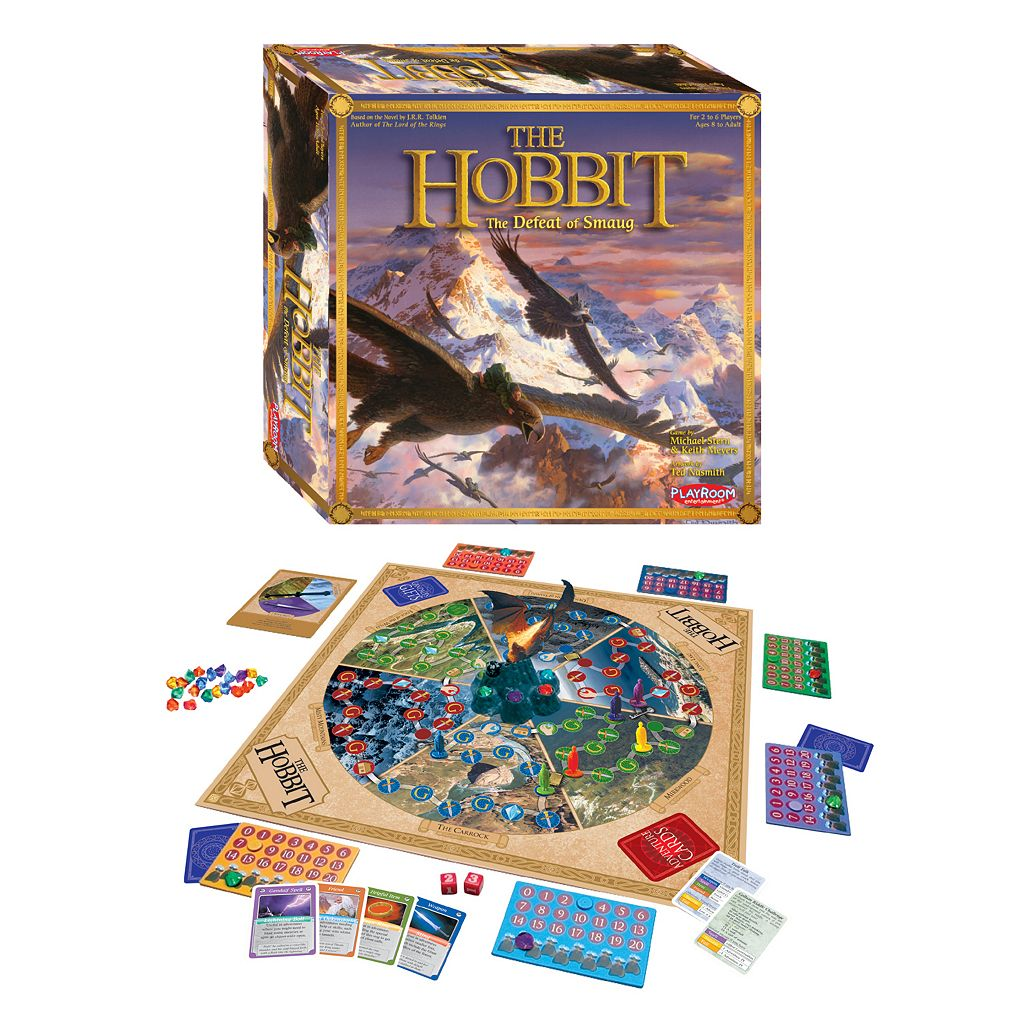 The Hobbit: The Defeat of Smaug Board Game by Playroom Entertainment