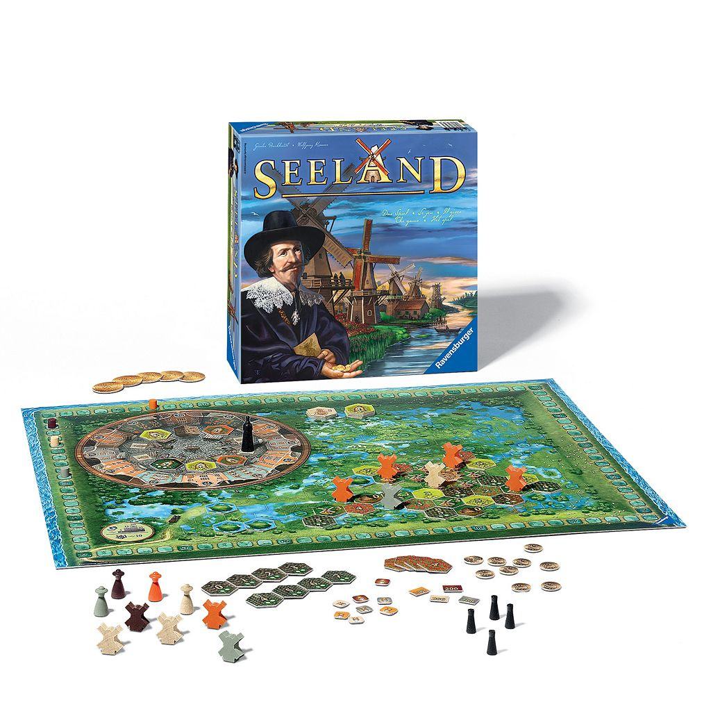 Seeland - Competition in the Land of Mills Board Game