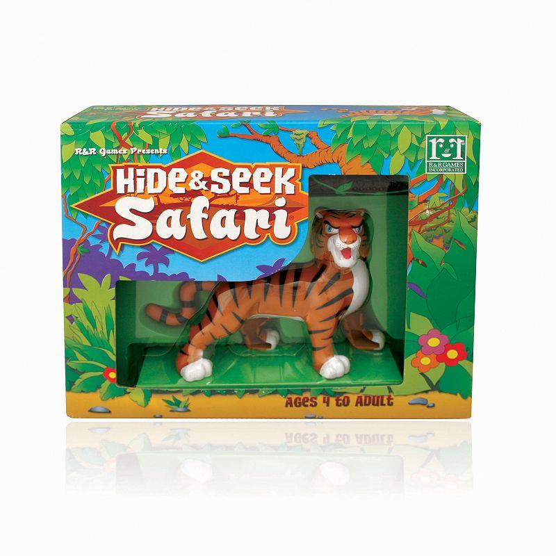 Hide & Seek Safari Game - Tiger
