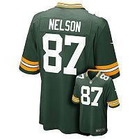 Boys 8-20 Nike Green Bay Packers Jordy Nelson Game NFL Replica Jersey