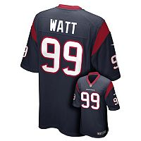 Boys 8-20 Nike Houston Texans JJ Watt Game NFL Replica Jersey