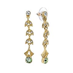 Downton Abbey® Vine Linear Drop Earrings