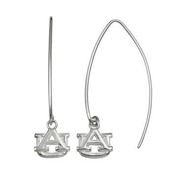 Dayna U Auburn Tigers Sterling Silver Hook Earrings