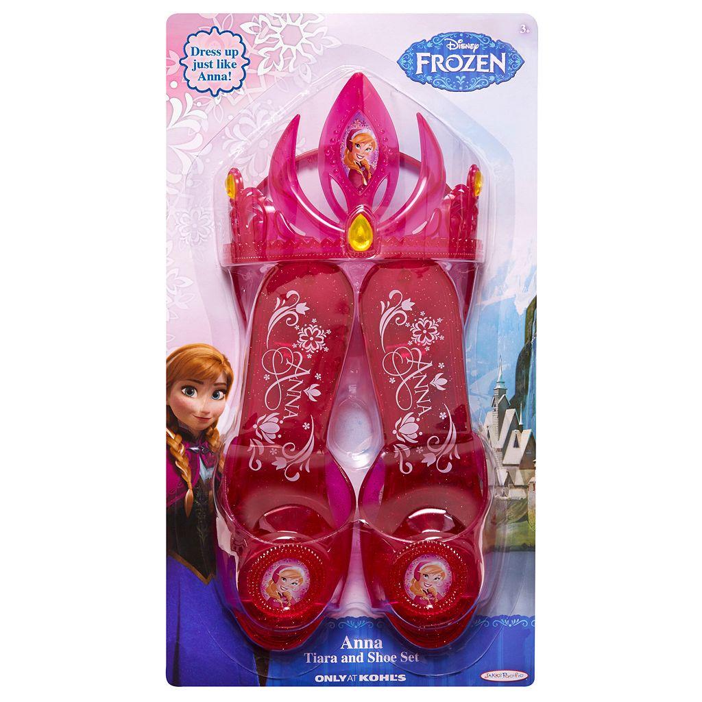 Disney Frozen Anna Tiara and Shoe Set