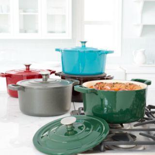 Food Network? 5.5-qt. Enameled Cast-Iron Dutch Oven