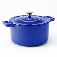 Food Network™ 5.5-qt. Enameled Cast-Iron Dutch Oven