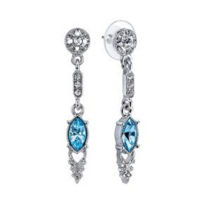 Downton Abbey Linear Drop Earrings