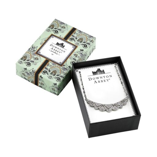 Downton Abbey Scalloped Bib Necklace