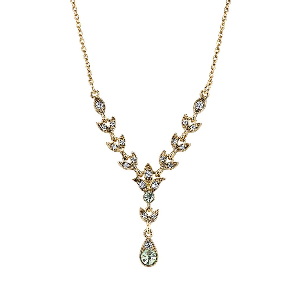 Downton Abbey® Vine Y Necklace