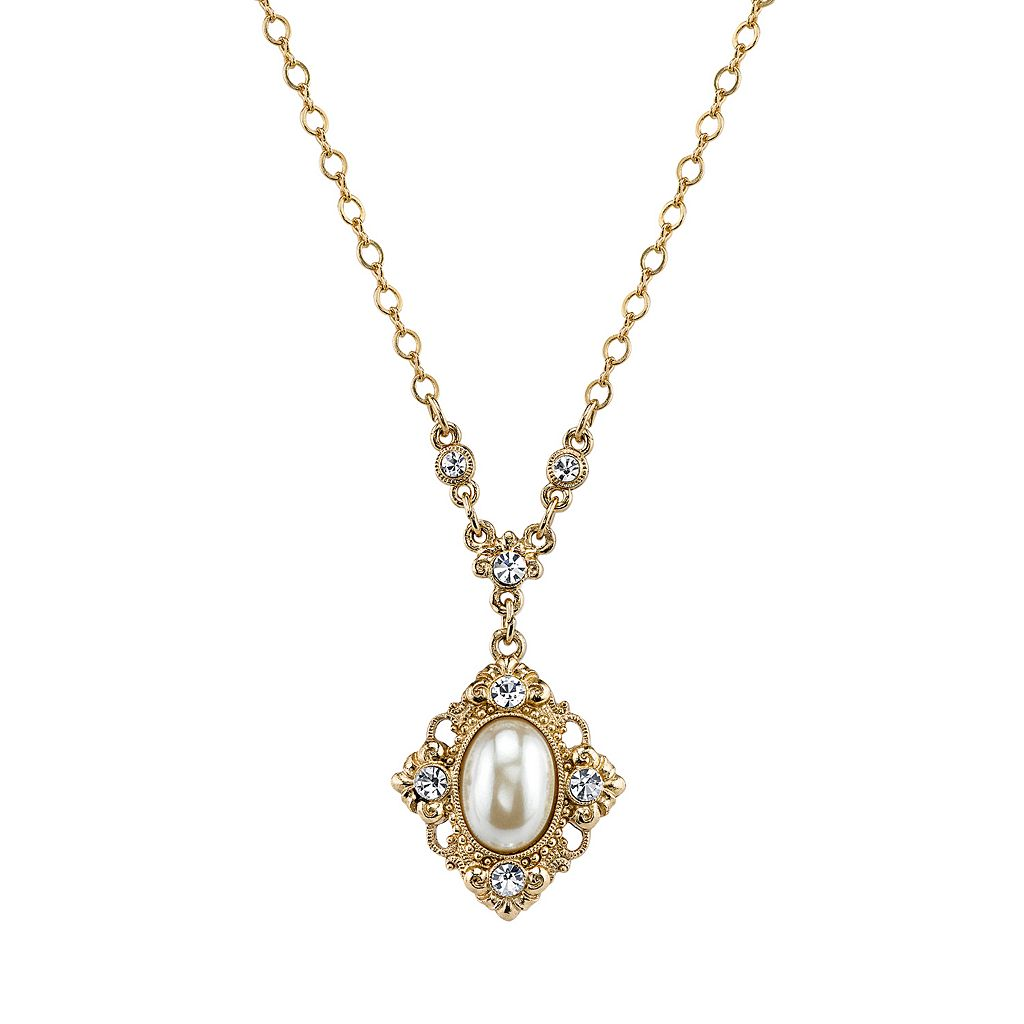 Downton Abbey® Scrollwork Necklace