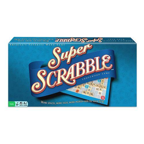 Super Scrabble Crossword Game by University Games