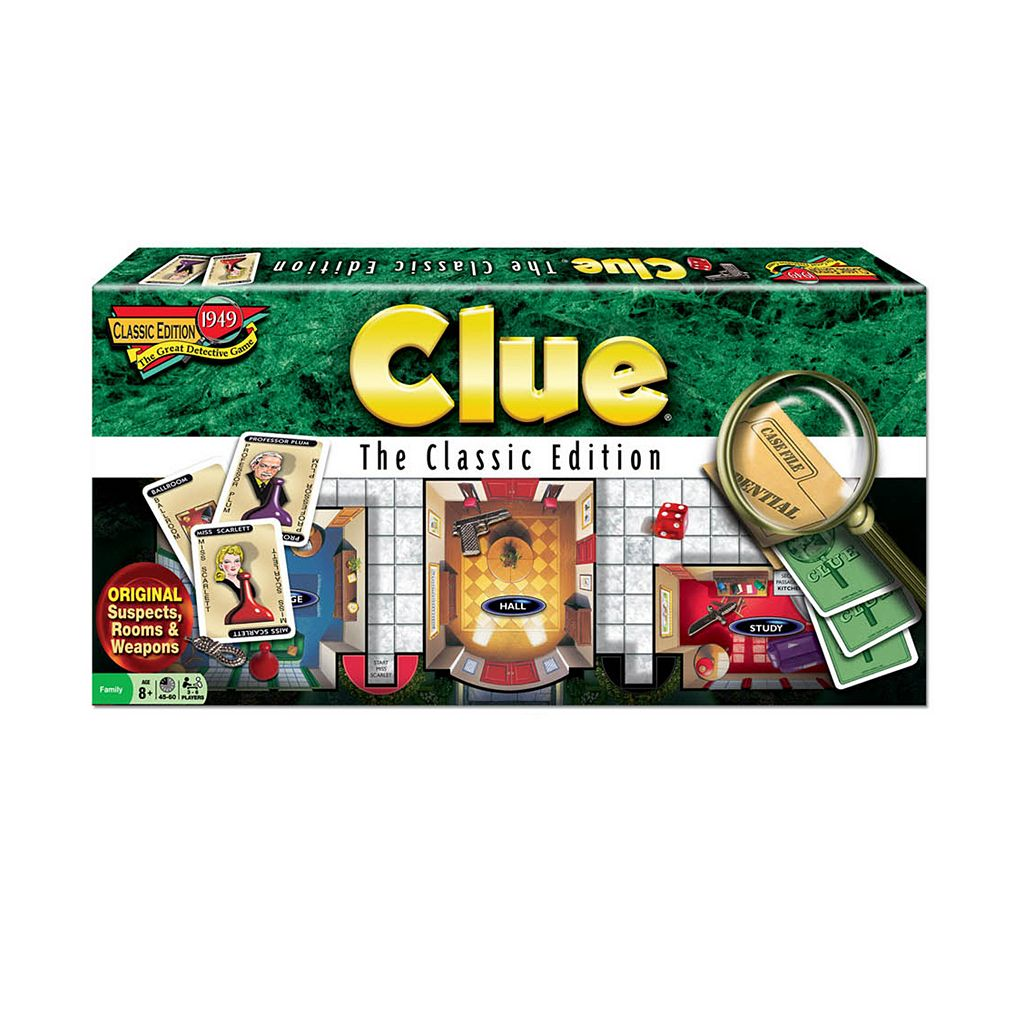 Clue Classic Edition by University Games
