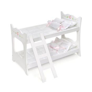 Badger Basket Doll Bunk Bed
