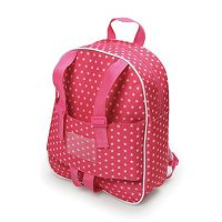 Badger Basket Doll Travel Backpack