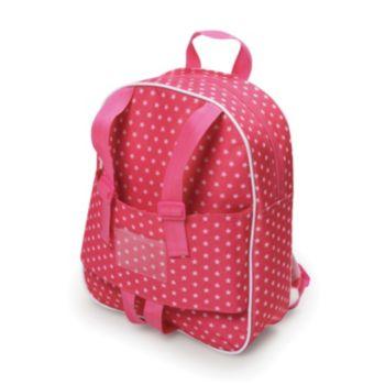 Badger Basket Doll Travel Backpack
