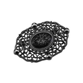 Downton Abbey Filigree Pin