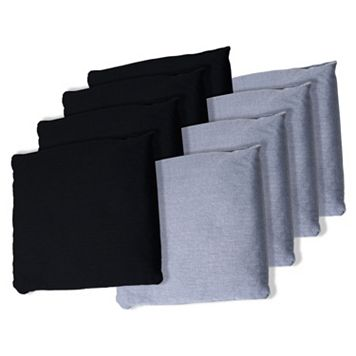 8-pk. Black & Gray Bean Bag Set