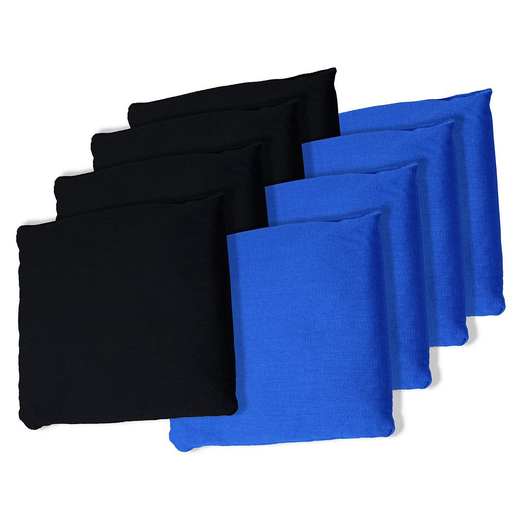 8-pk. Black & Blue Bean Bag Set