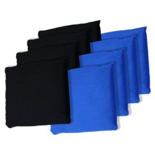 8-pk. Black & Blue Bean Bag Set