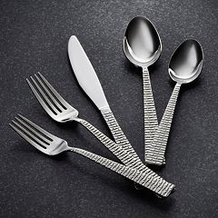 Hampton Forge Argent Trillion 18/10 Stainless Steel 45 pc Flatware Set
