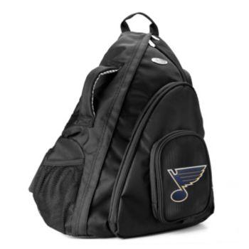 St. Louis Blues 15-in. Laptop Sling Backpack