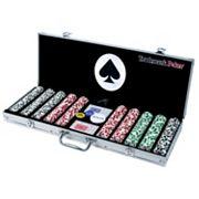 4 Aces 500-Chip Poker Set