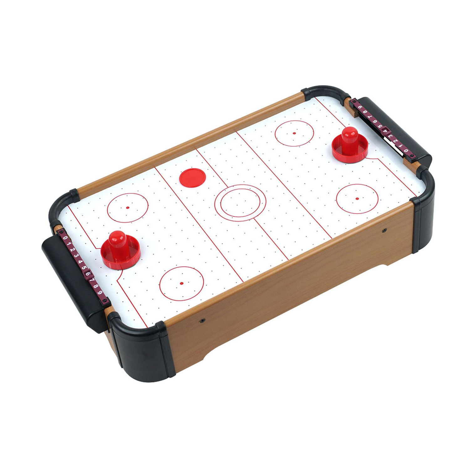 Air Hockey Table Top View Mini Tabletop Air Hockey Game Table Top