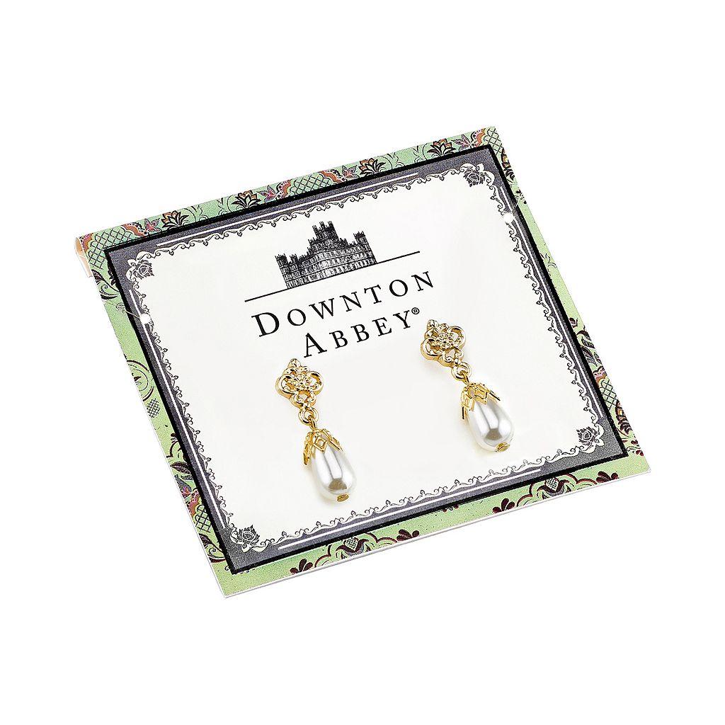 Downton Abbey Art Deco Drop Earrings